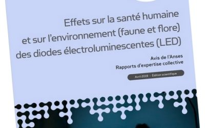 ANSES : les impacts biodiversité et environnement des LEDs